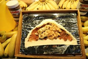 love asian food street food banana seoul food