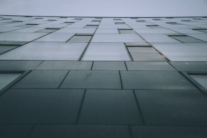 low angle shot glass items perspective architecture building architectural design pattern windows design glass windows