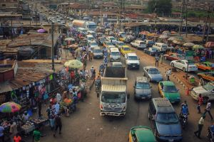 market busy road road lagos street photo nigeria beautiful creative cars