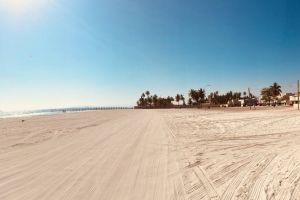 mosque panorama view salalah beach