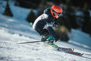 mountain winter clothing long exposure athletes snow gloves ice recreation winter landscape