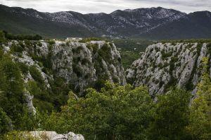 mountains nature croatia landscape