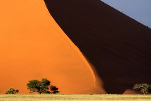 namibia sand dunes dunes sand