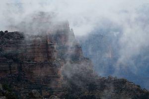 nature mountain landscape foggy