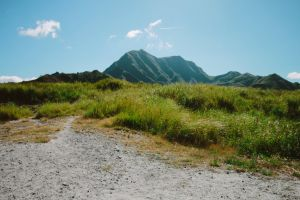 nature philippines mount pinatubo landscape