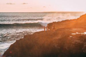 outdoorchallenge sea golden hour nature waves seascape beach coast splash ocean