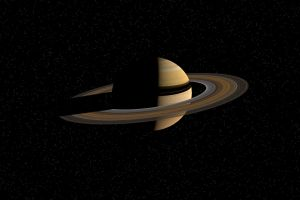 outer space planet saturn space