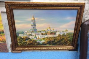 painting building castle