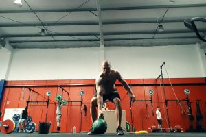 people fit healthy kettle bell gym