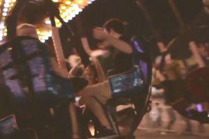 people women iphone friends fun fair roller coaster ferris wheel video kermis apple