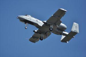 pilot a-10 plane a10