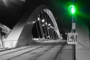 pont raymond barre night musee lyon nuit confluence
