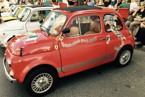 red car italy montreal fiat canada