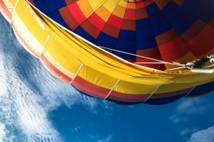 ride day colors balloon height sky rainbow colors balloon ride spain ballooning