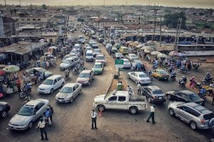 road cars street photo market wanderlust busy road beautiful dirty road nigerian
