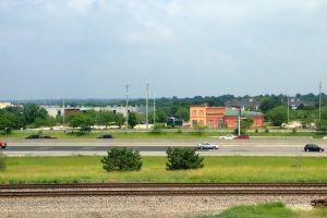 road railroad vehicles traffic cars