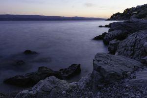rocks scenic water nature seascape seashore sea ocean stones coast