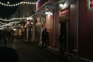 rommanee love phuket street night thailand romantic