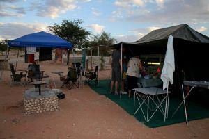 roofs holiday kgalagadi desert camp kalahari sunset south africa sand camping
