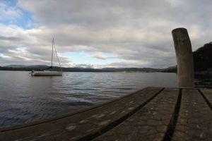 sailboat watercraft sky dock sailing cloudy time-lapse water
