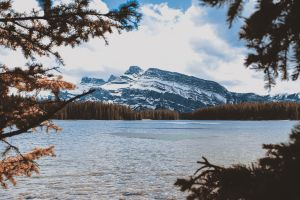 scenic landscape environment nature wilderness daylight mountain water clouds snow