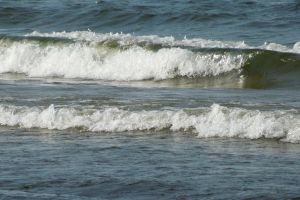 sea beach waves baltic sea