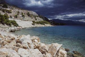 sea landscape croatia