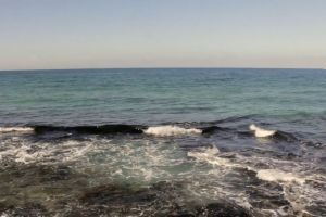sea water beach ocean waves daylight