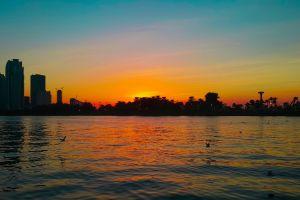 sharjah dubai uae sunset