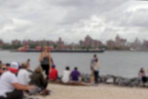 ship city riverside people blur water walking boat hanging-out