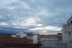 sky blue sky cloudy sky