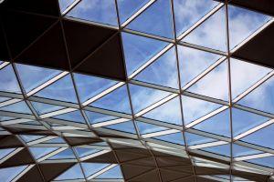 sky light shapes triangle glass roof
