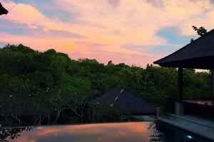 sky sunset beautiful bali