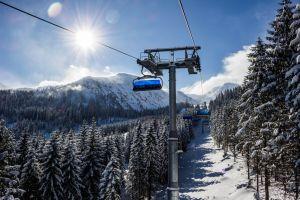 snow weather winter mountain ski lift snowy lift season cold high