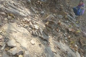 stone sand stone rocky mountains paving stones stone structure mountain peak mountain stone wall