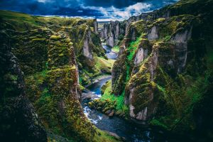 stream water environment rock canyon scenic rocks landscape nature rapids