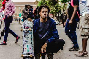 street fashion black nairobi street photo skateboard africa outdoorchallenge kenya town