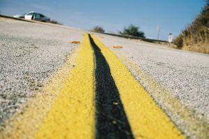 stripe highway road