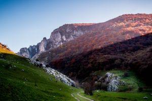 summer rocks mountain romania