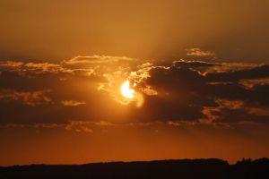 sun clouds sunset dawn nature ssky sepia