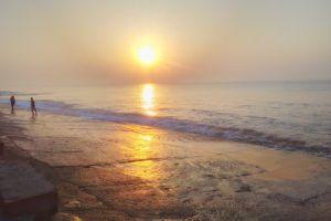 sun rise early morning morning sun india sun sets beaches digha evening sun kolkata good morning