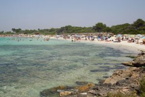 sunshade beach swimming mallorca holiday sea
