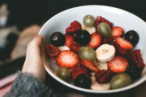 tasty bowl diet berries fruits berry fruit salad fresh epicure organic