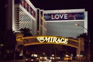 tourism night illuminated mirage machine cirque du soleil nightlife gambling electricity cars