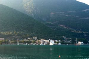 town bay vasiliki greece sea