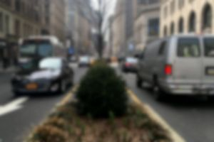 vehicles blurry cars road traffic city blurred