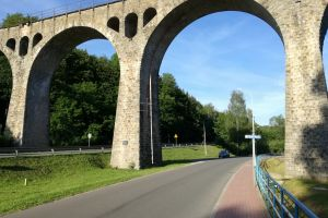 viaduct railway viaduct bridge