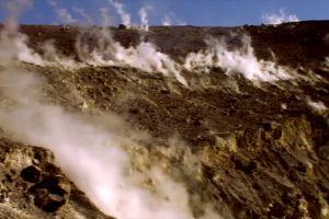 volcanic gas nature volcano