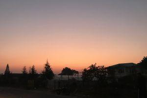 wallpaper evening sony a6000 alpha6000 orange evening sky beautiful sky dslr