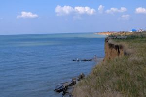 water coast ocean sea horizon
